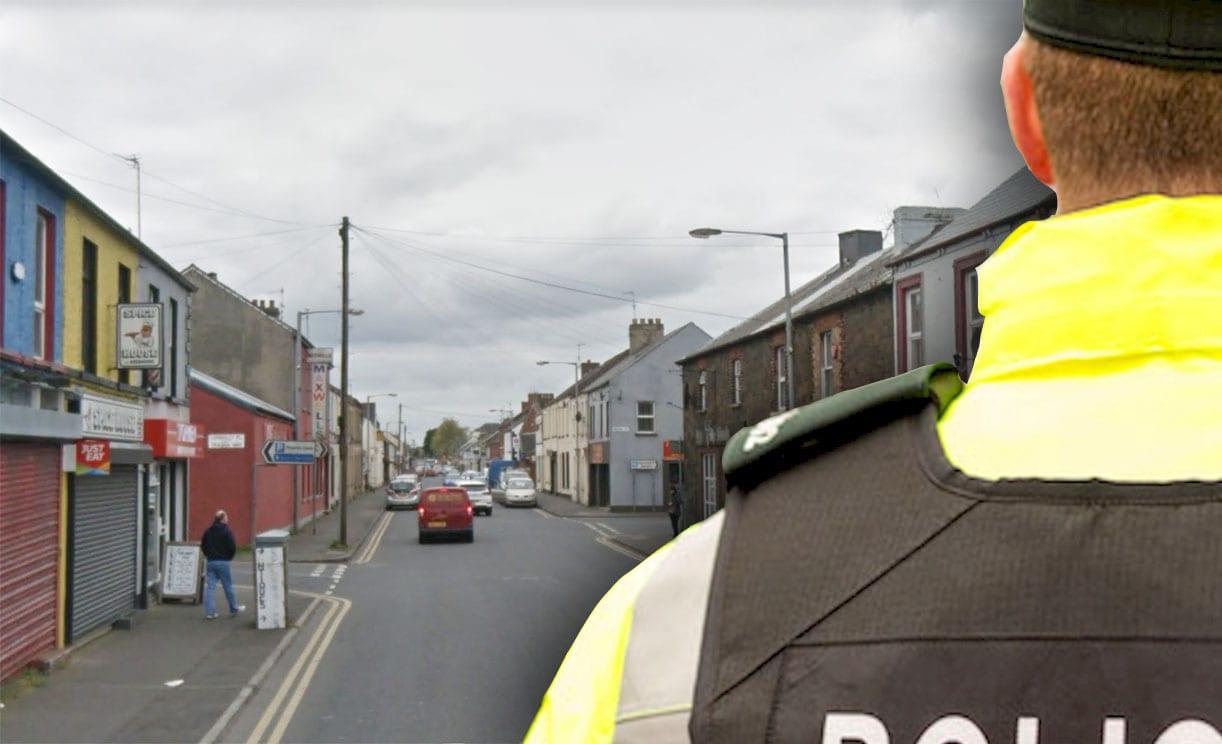 Union Street, Lurgan police