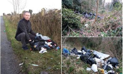 Fly-tipping Mickey Larkin