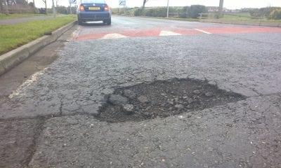 Pothole Hamiltonsbawn