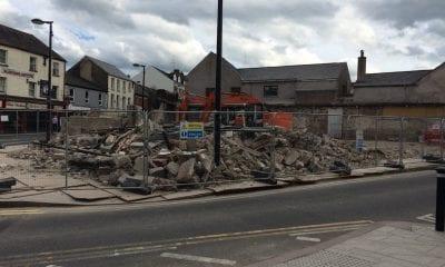 Former Irish station in Armagh demolished to make way for new Irish Language Centre