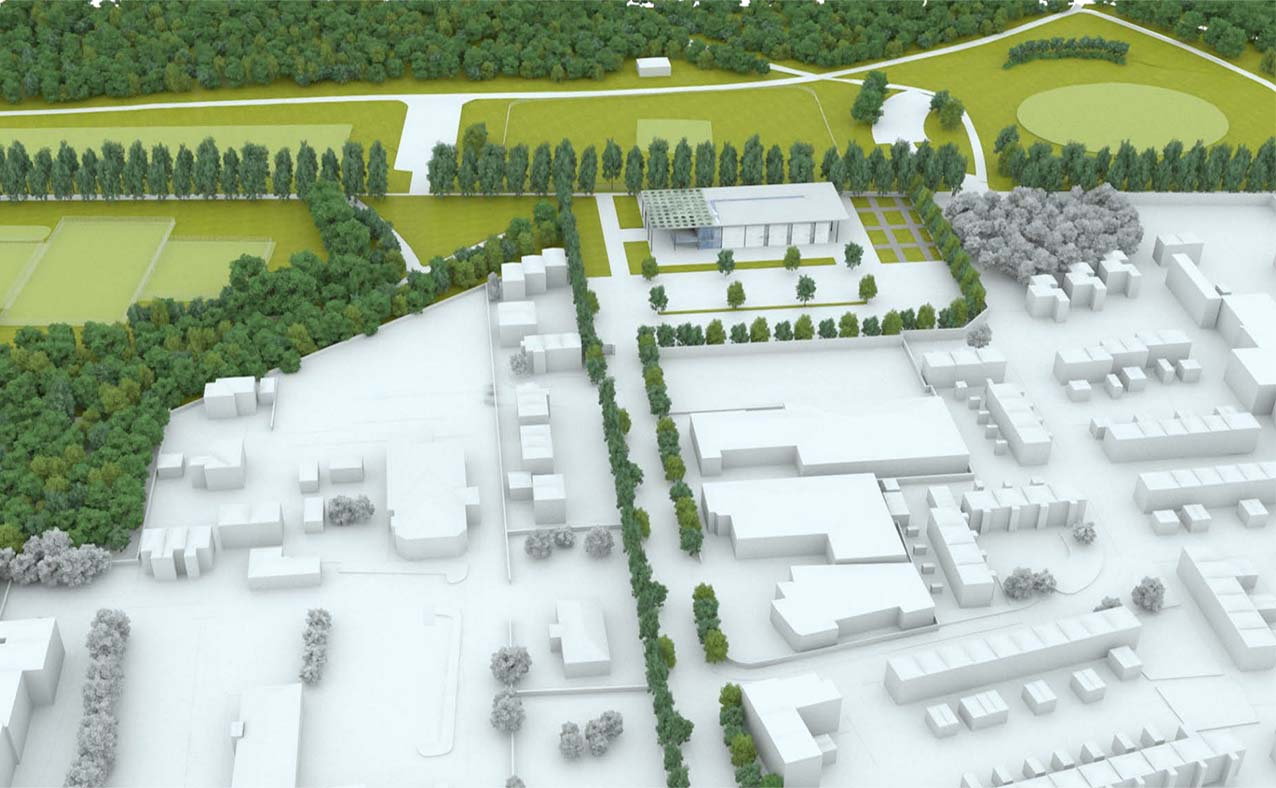 Concept drawing Lurgan Park
