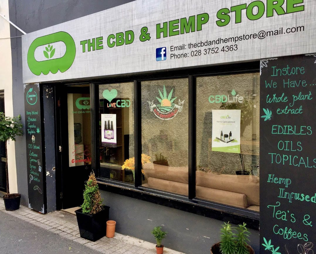 CBD & Hemp Store – a small independent business in heart of