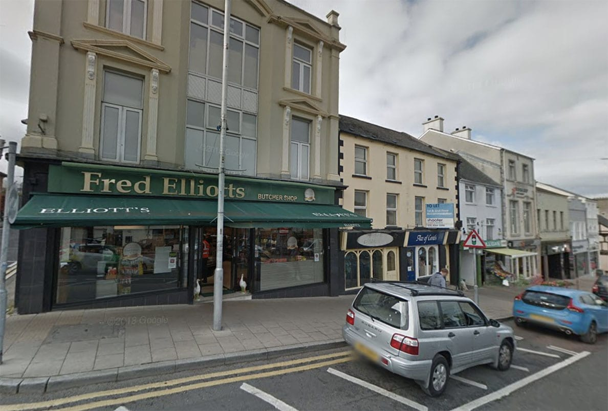 Fred Elliott butchers Banbridge