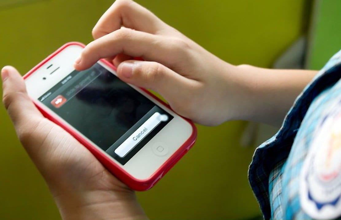 School phone social media