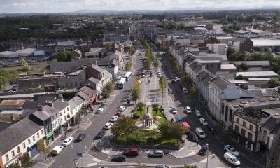 Lurgan town centre aerial