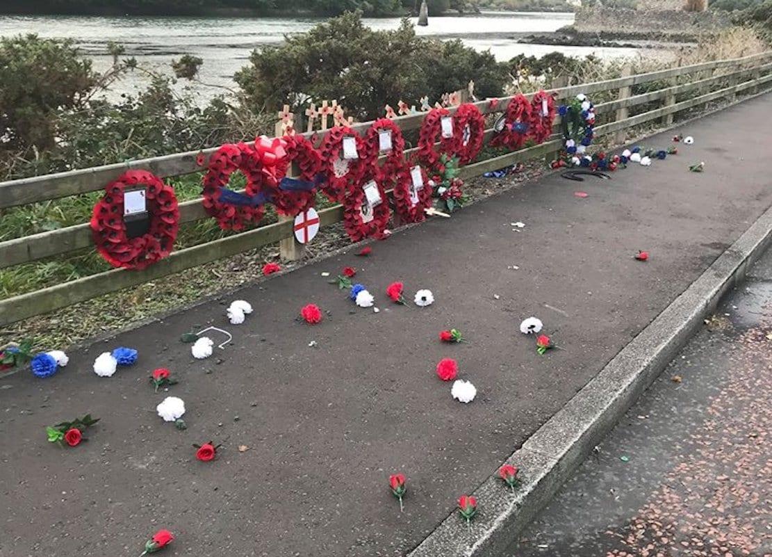 Narrow Water memorial