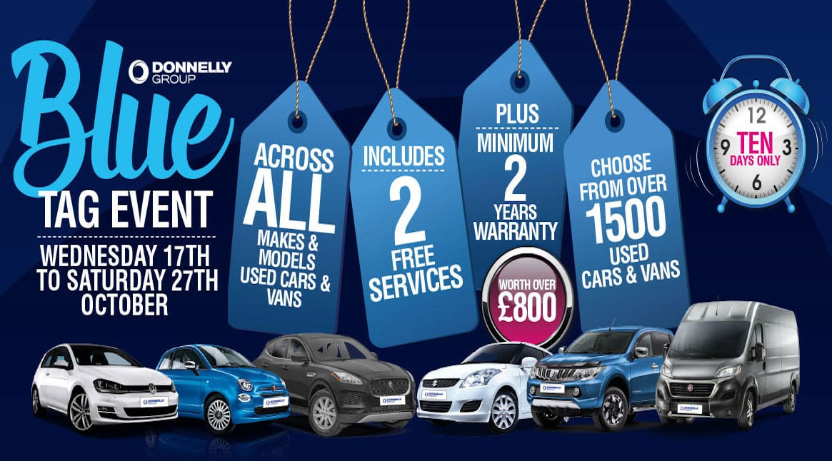 29e1542bc1c556 Donnelly Group launches 10-day  Blue Tag event  - Armagh I