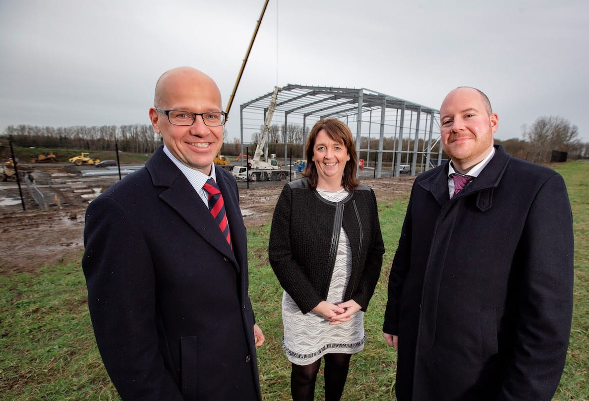 Construction Begins At Ground Breaking 9m Co Armagh Cold Storage Facility Armagh I