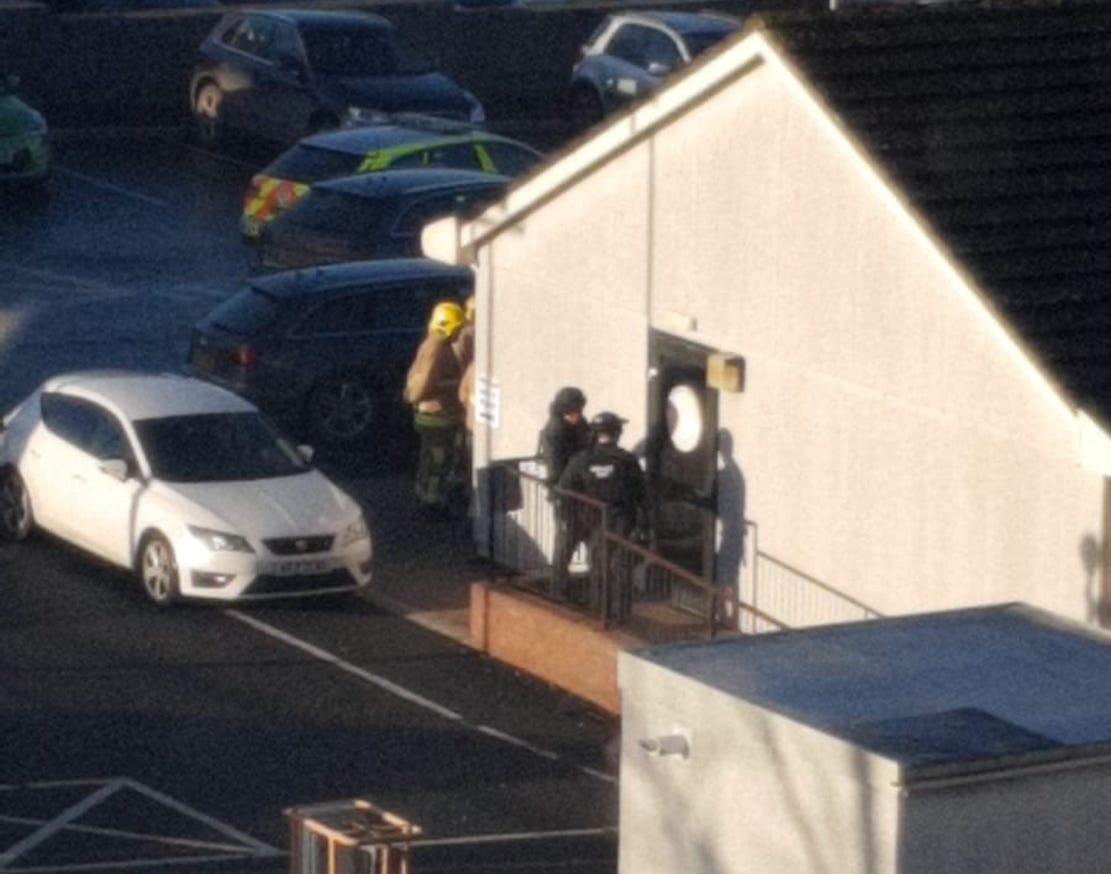 Armed police Craigavon
