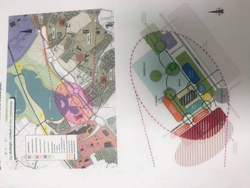 Craigavon Masterplan with SRC campus
