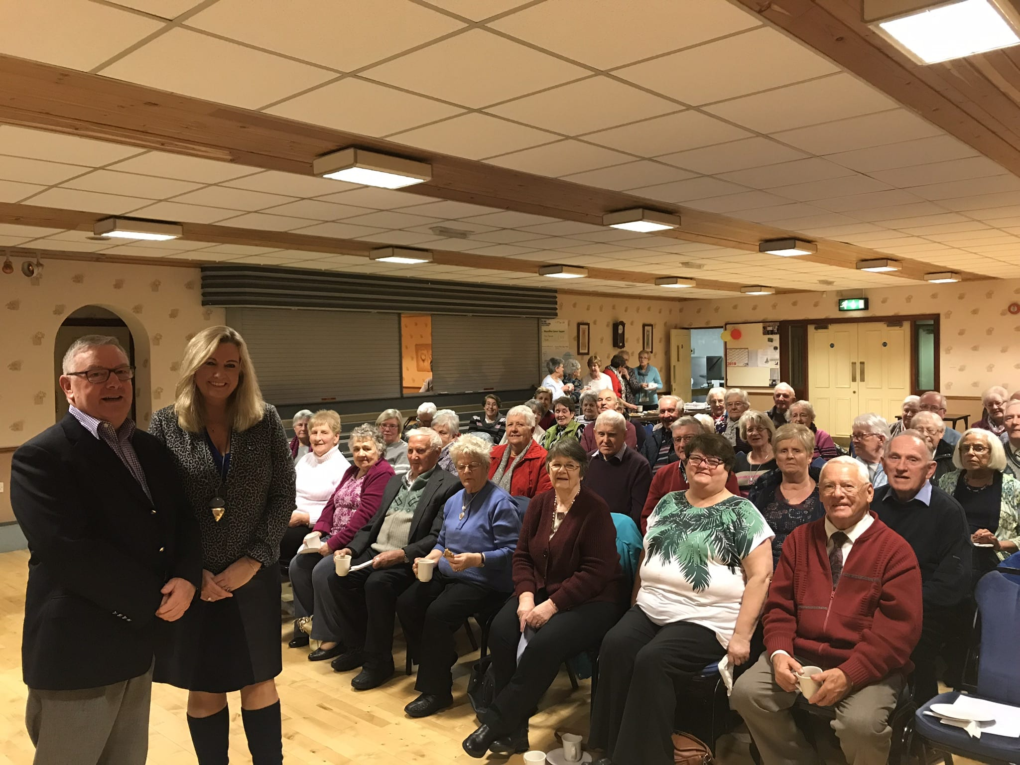 Hartford Friendship Club hosted Jo-Anne Dobson, Kidney Care UK Northern Ireland Ambassador