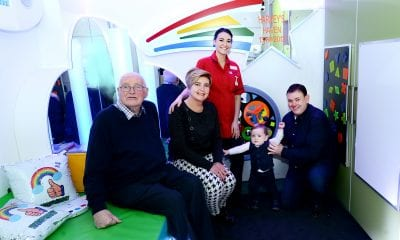 Bessbrook woman's dream of opening a new sensory room - in memory of her son two-and-a-half-year old son Harvey - has been realised.