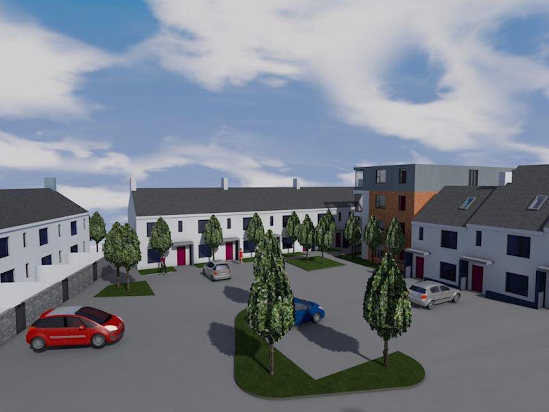 Ogle Street development Armagh 2