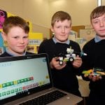 Scoil Mhuire Students The Lego Mindstorm project brings children and teachers from primary schools together for Lego Mindstorm Workshops and subsequently for Space Challenge Competitions and Exhibitions of Project work and Project Sharing ideas. Peace by PIECE Lego Mindstorm funded by Peace IV co-ordinated by CMETB Tommy Makem Centre Keady Co.Armagh 9 3 2019 CREDIT: LiamMcArdle.com