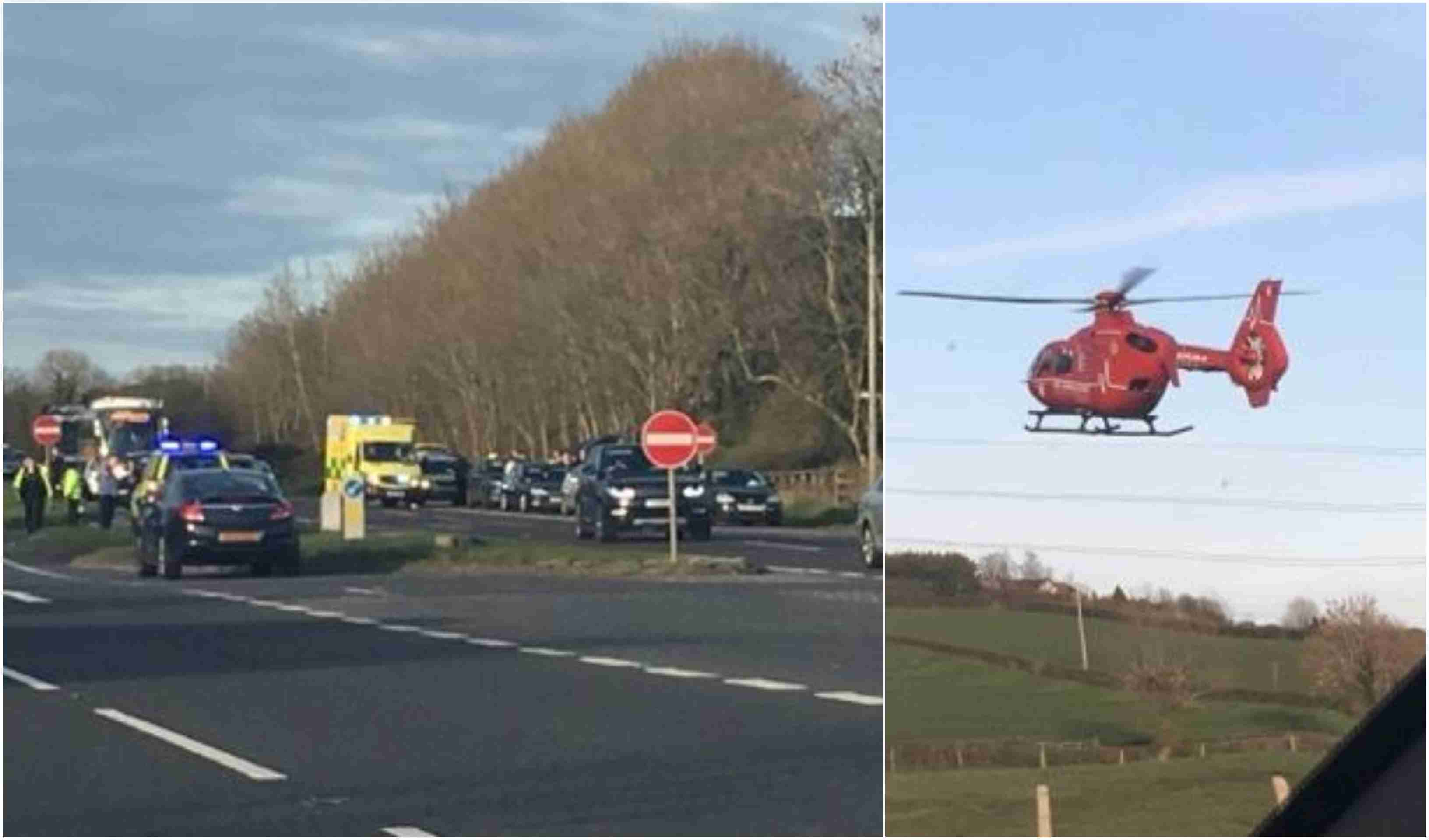 Air Ambulance RTC A1
