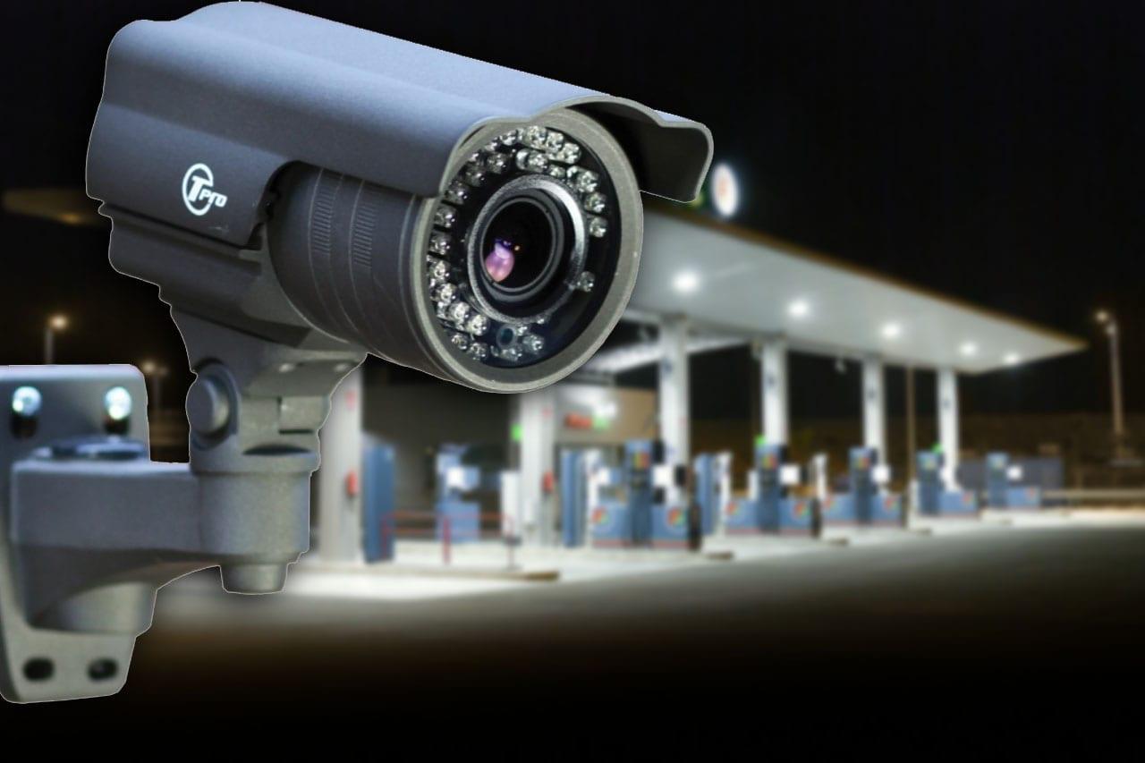 CCTV filling station