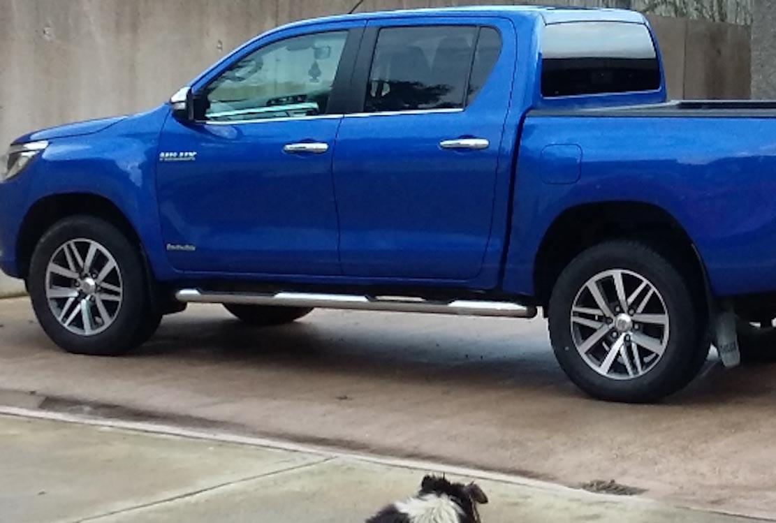Stolen Toyota Hilux Keady