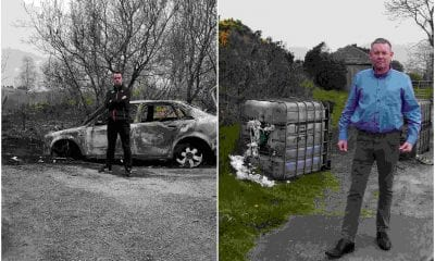 Car burnt south Armagh