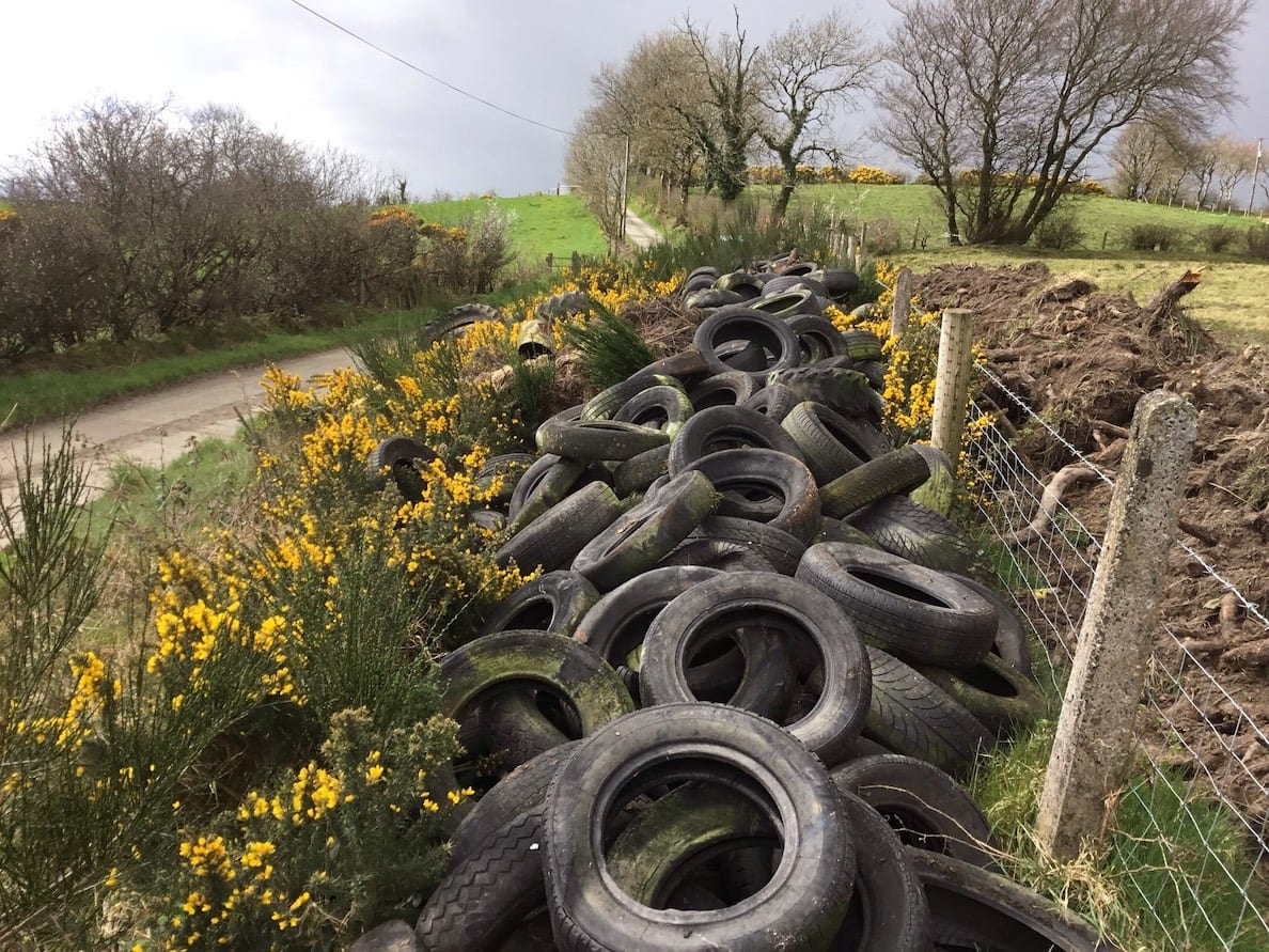 Clea tyre dumping