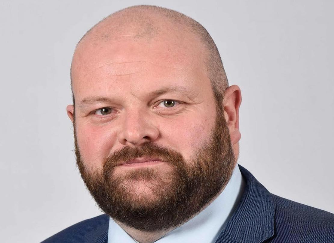 DUP councillor Mark Baxter