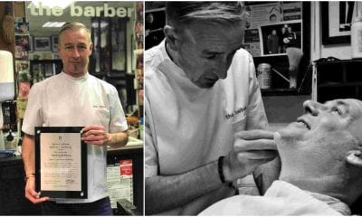 Mark McSherry Armagh barber