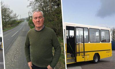 School bus Seamus Livingstone