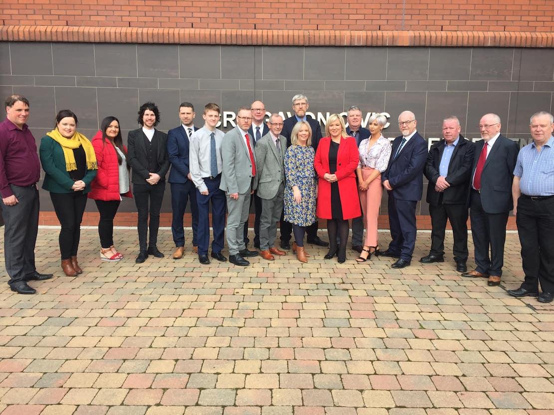 Sinn Fein candidates