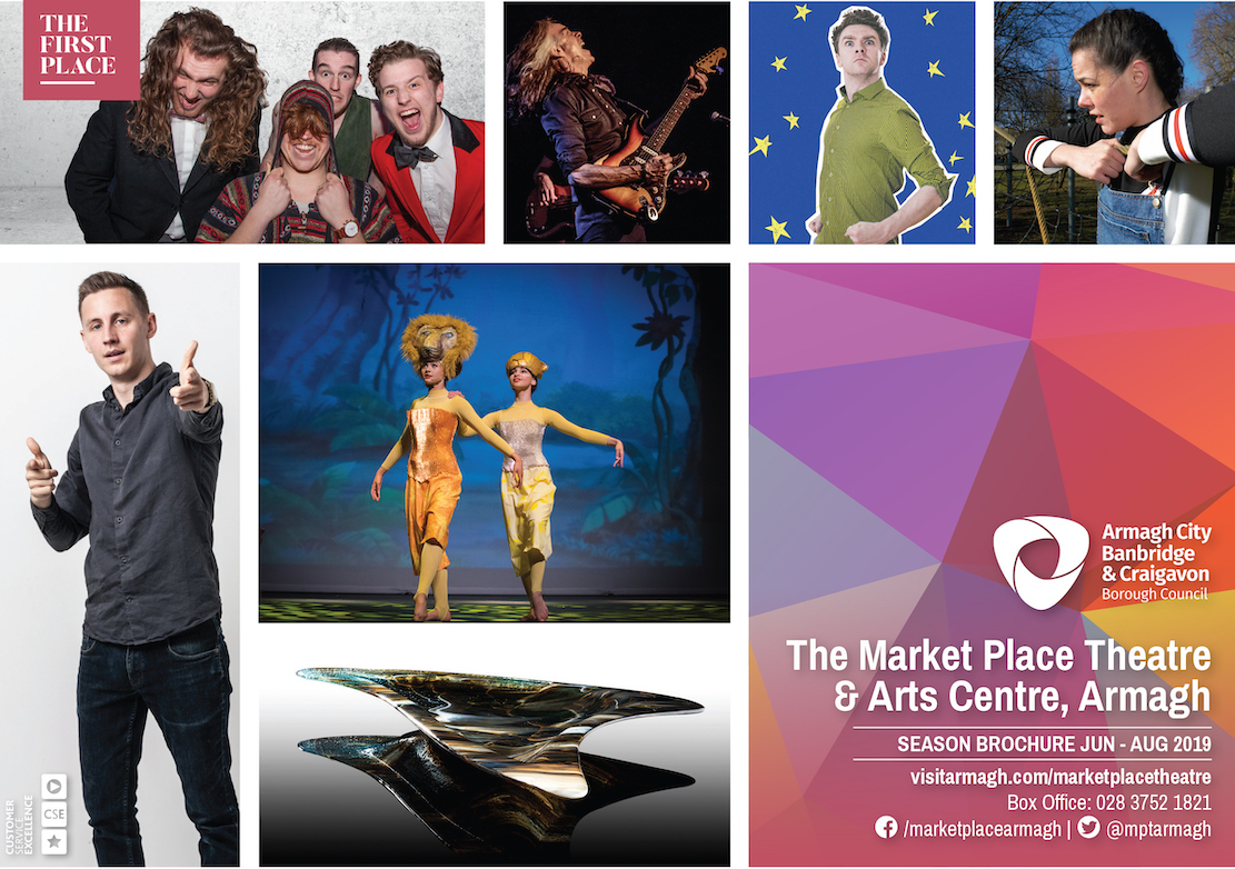 Market Place Theatre Armagh Summer 2019 brochure