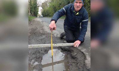 Terry Hearty Crossmaglen pothole