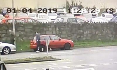 Theft van Newry