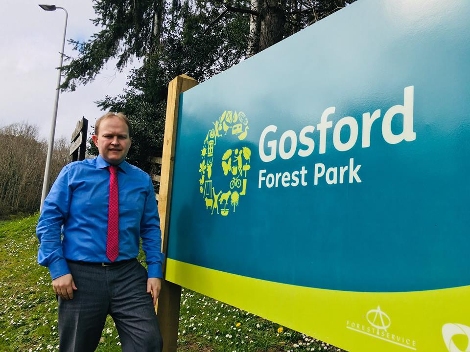 gosford forest park late night opening parking