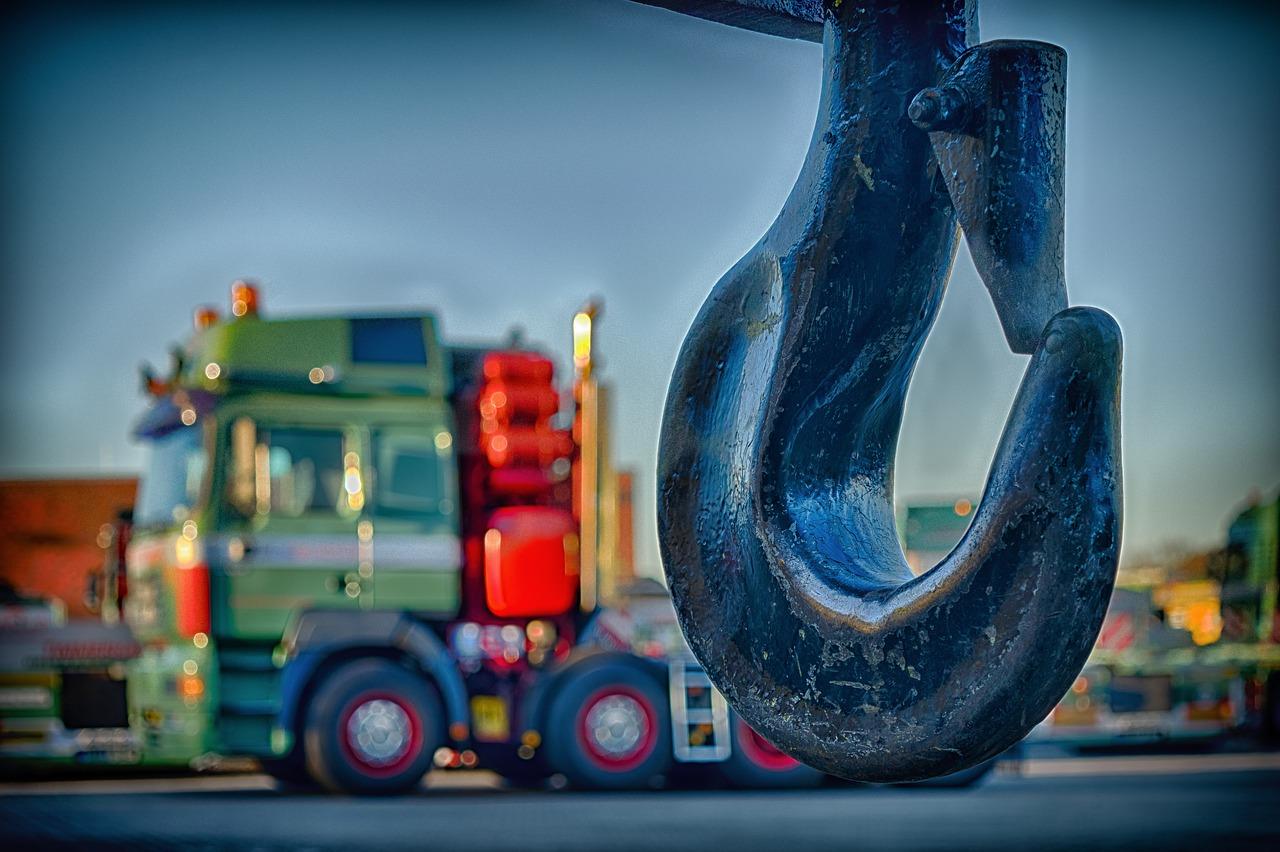 hook lorry