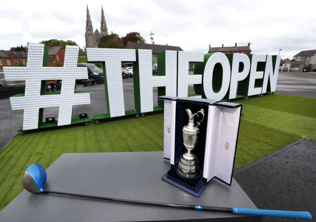 'The Epic Journey to The 148th Open' The Epic Journey to The 148th Open Swings into Armagh – Local Armagh schools, golf clubs, tourism industry representatives and sports stars joined together at The Shambles Yard to celebrate Tourism NI's community engagement campaign 'The Epic Journey to The 148th Open'. The community event is visiting every county in NI to mark the excitement and civic pride surrounding The Open Championship's return to Royal Portrush this July.