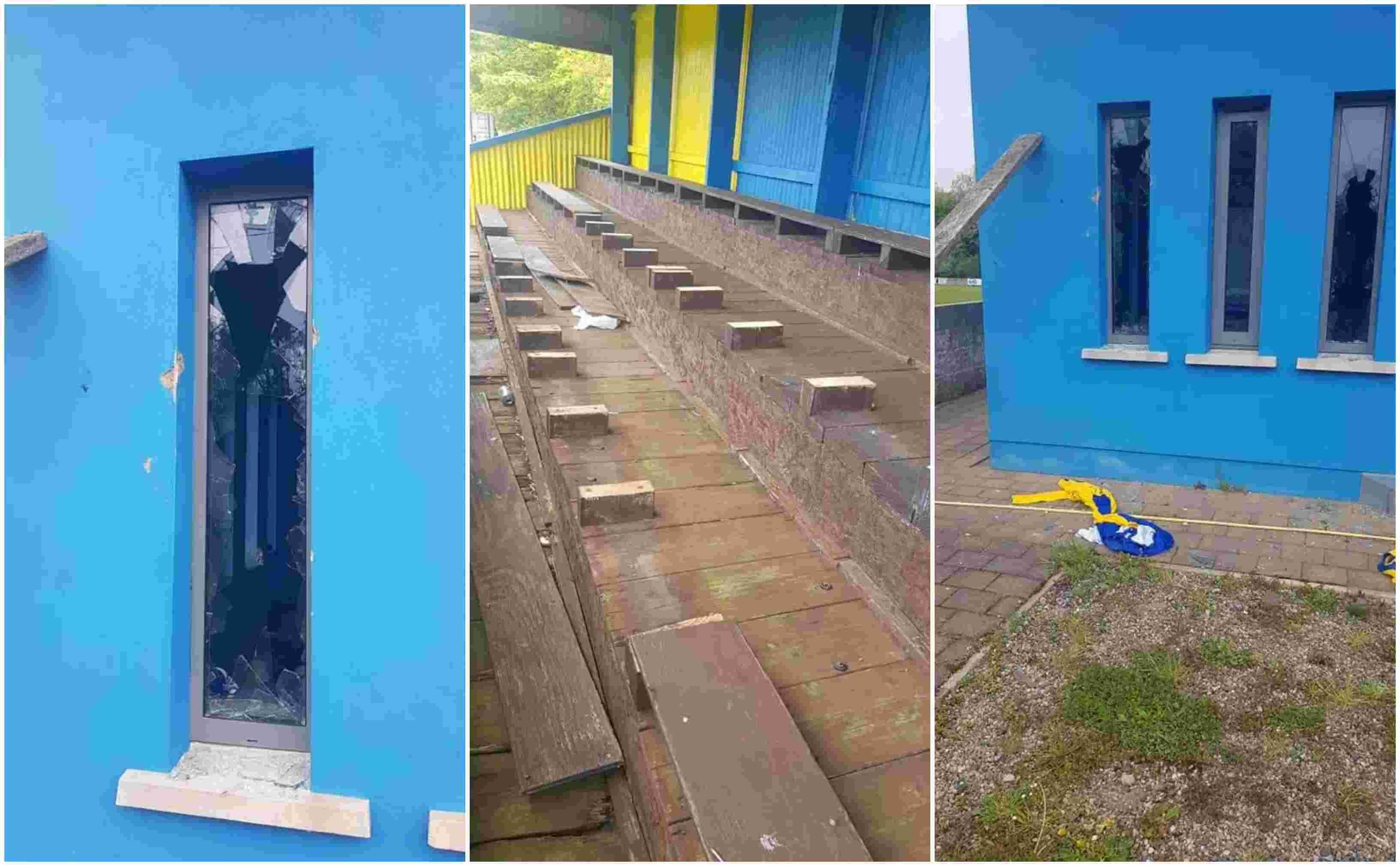 AFC Craigavon vandalised