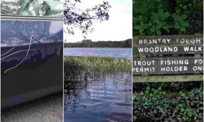 Brantry Lough vandals