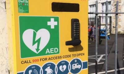 Darkley missing defibrillator