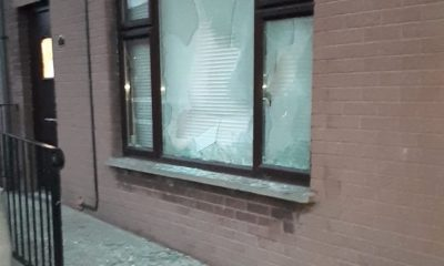 Newry window smashed