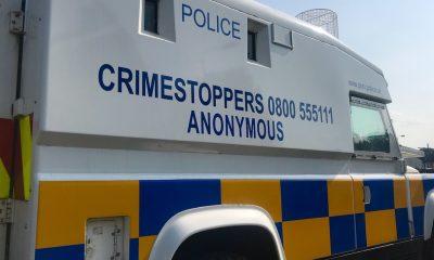 PSNI police van