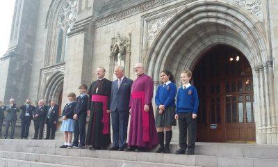 Prince Charles visits Armagh