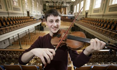 Samuel Kane, from Loughgall in County Armagh has been announced as the new Leader of the Ulster Youth Orchestra