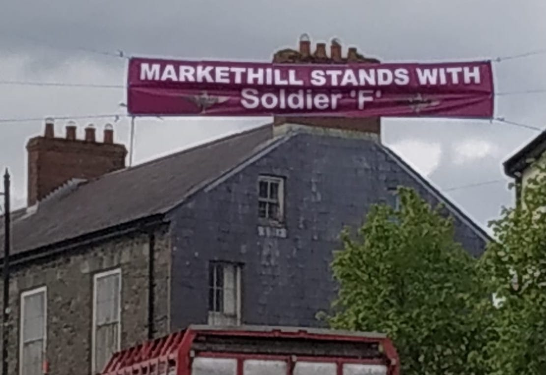 Soldier F banner Markethill