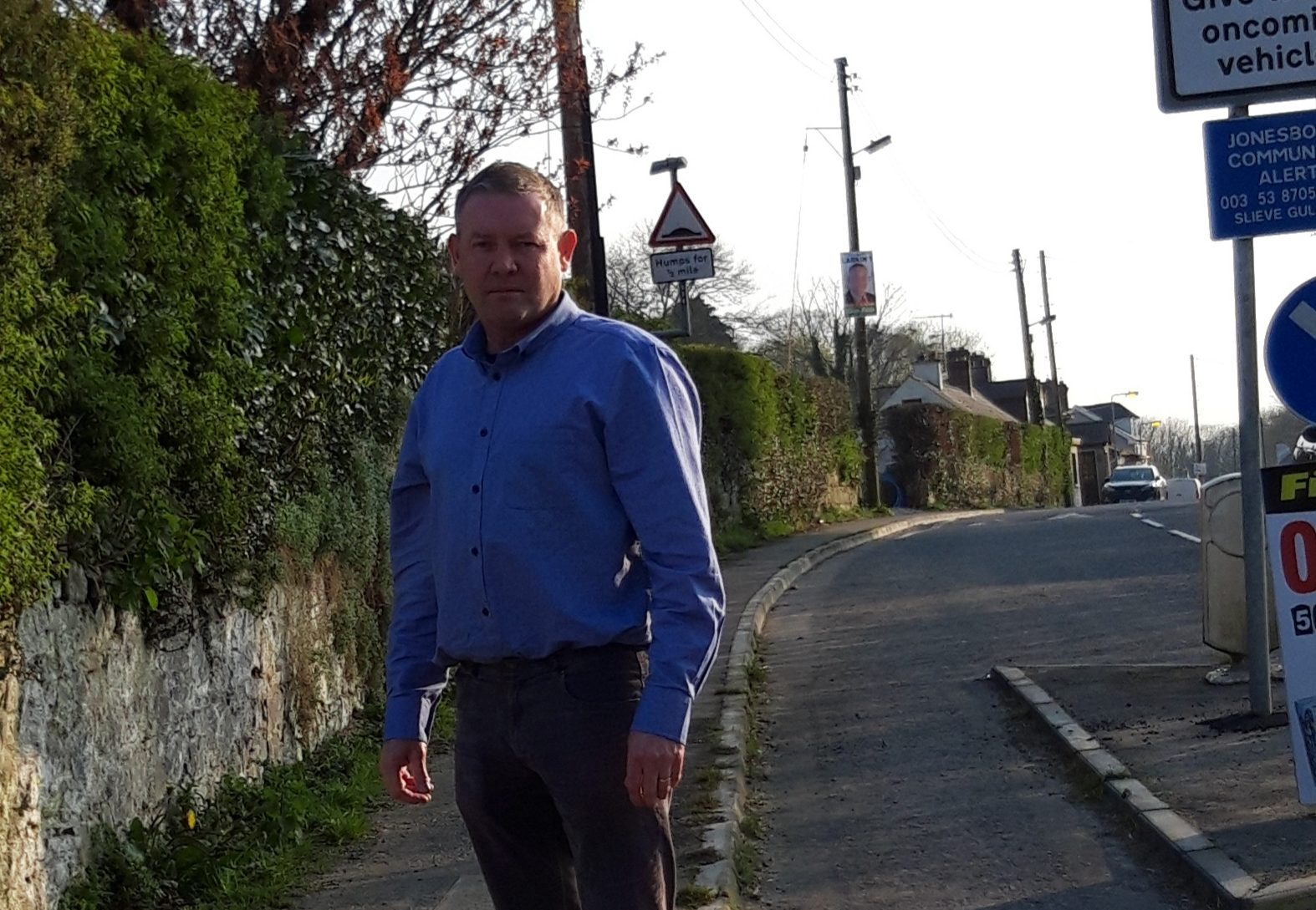 Mickey Larkin South Armagh