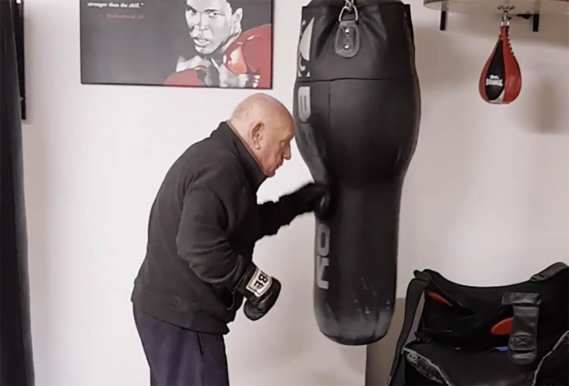 Anthony Greene boxing
