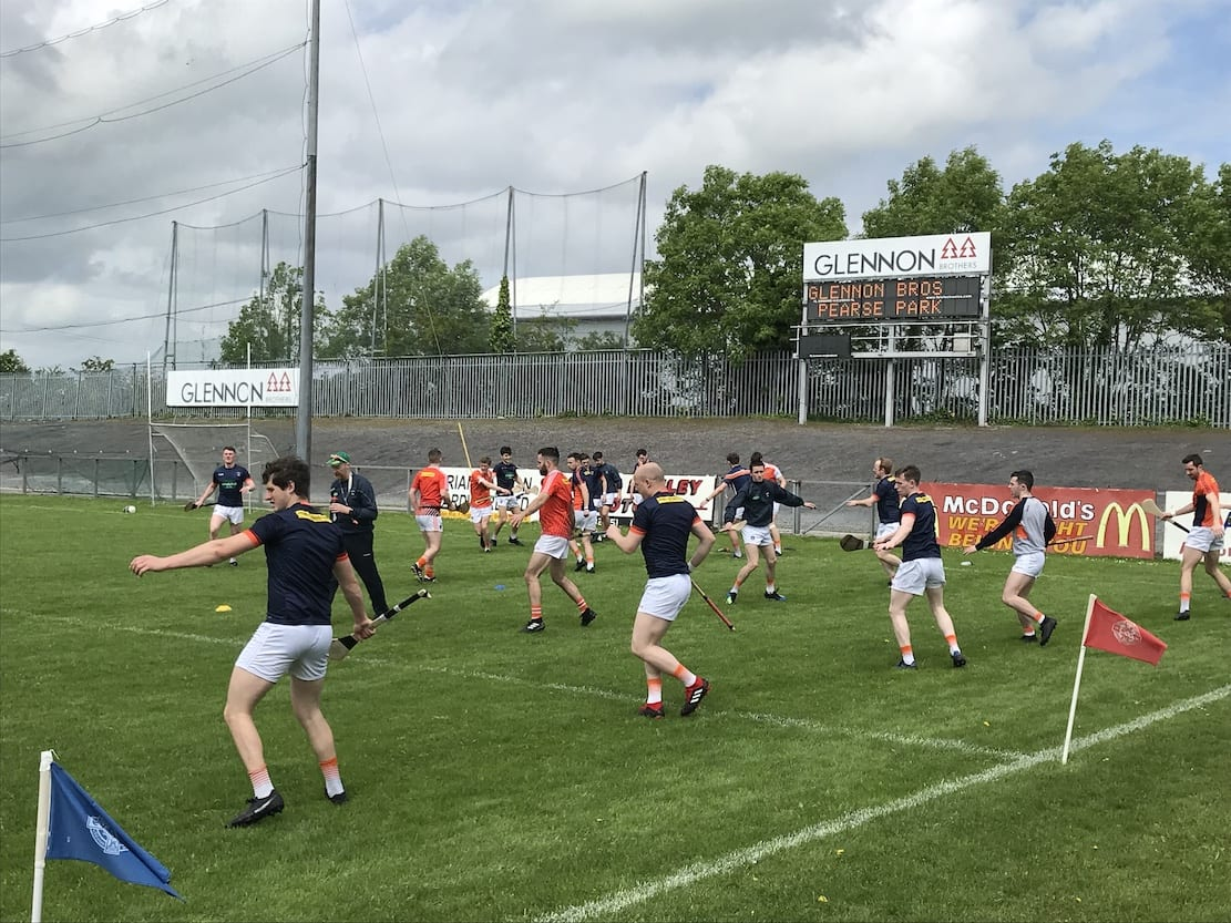 Armagh hurlers booked their place in the Nicky Rackard semi-final with victory over Longford