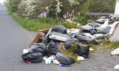 Crossmaglen Blaney Road dumping