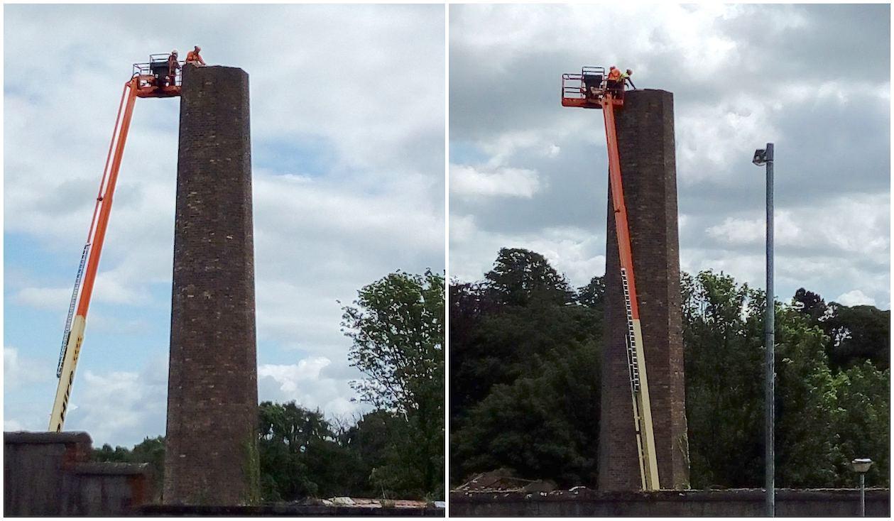 Gillis Yard chimney Armagh