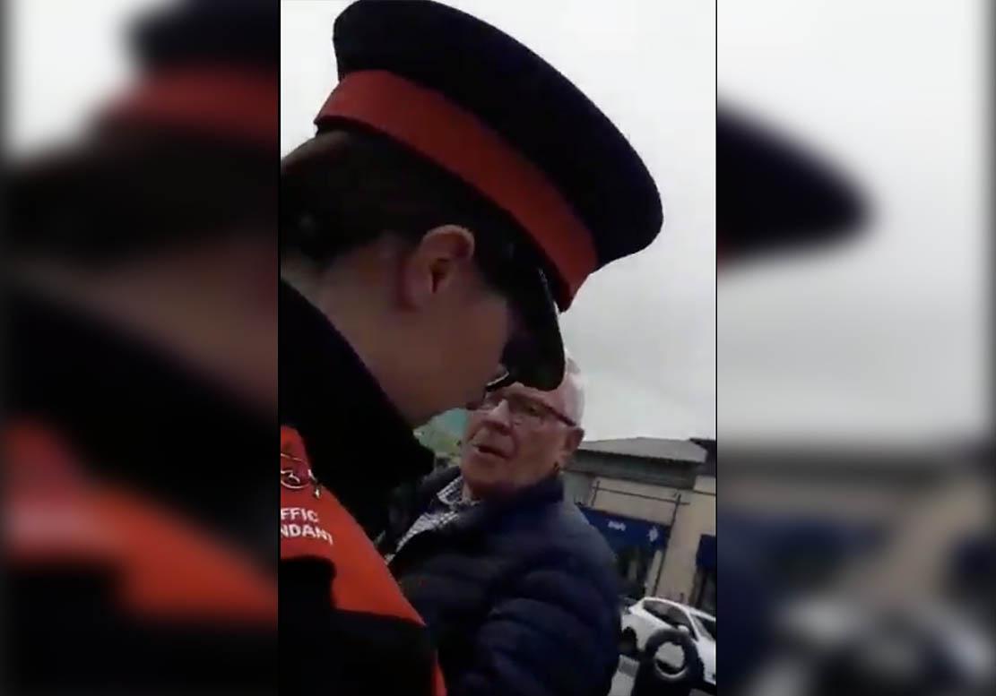Traffic warden abuse Portadown