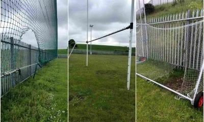 Vandalism St Joseph's High School in Newry