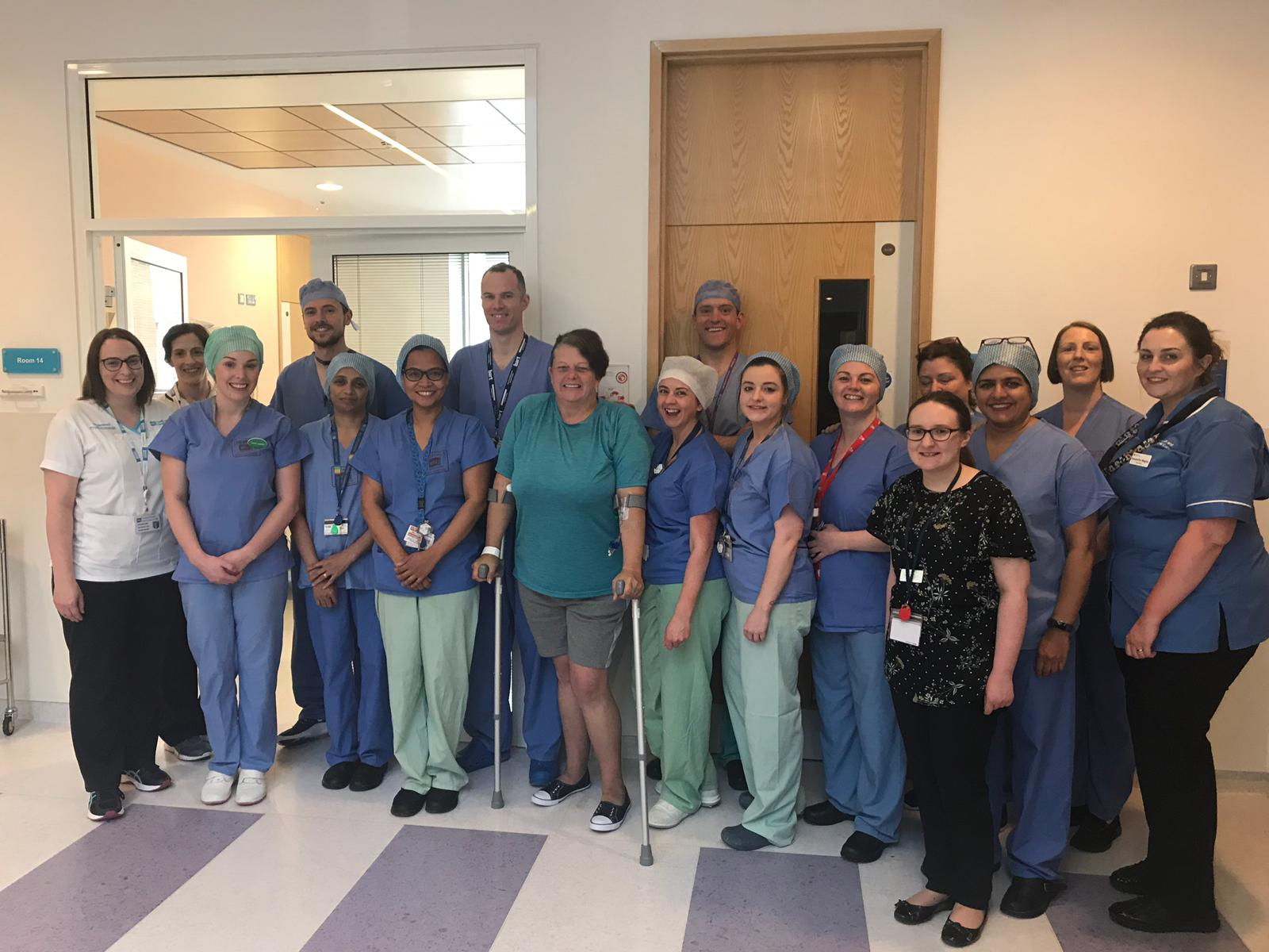 Caledon woman gets hip replacement at Craigavon Area Hospital