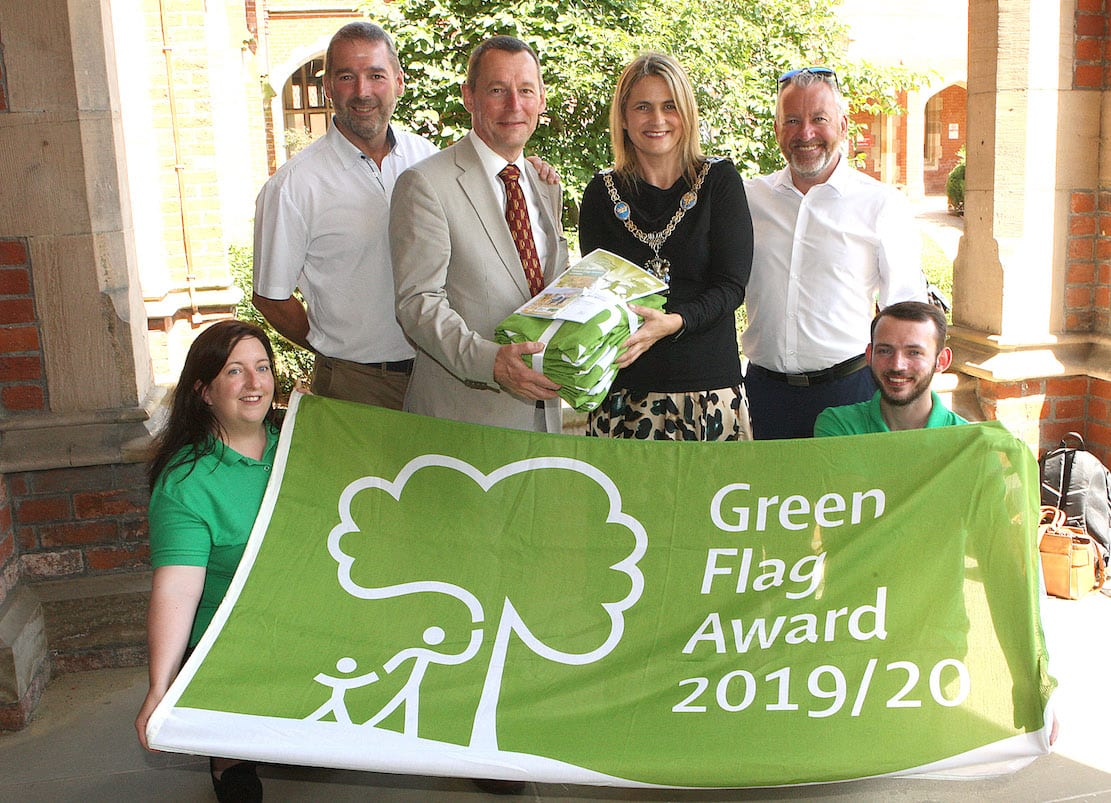 Armagh Banbridge and Craigavon Borough Council Green Flag Award